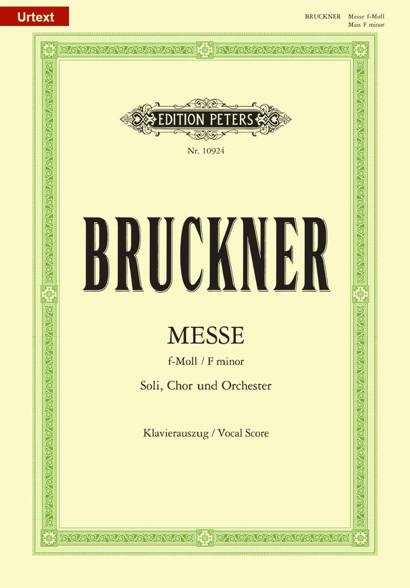 Messe Fa Mineur - BRUCKNER - Partition - Chœur - laflutedepan.com