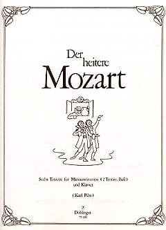 Der heitere Mozart MOZART Partition laflutedepan