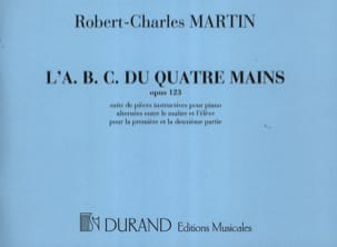 ABC du 4 Mains Opus 123 Partition Piano - laflutedepan