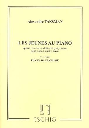 Les Jeunes Au Piano Volume 2. 4 Mains Alexandre Tansman laflutedepan