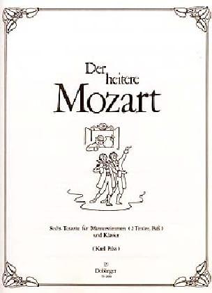 Der heitere Mozart - MOZART - Partition - laflutedepan.com