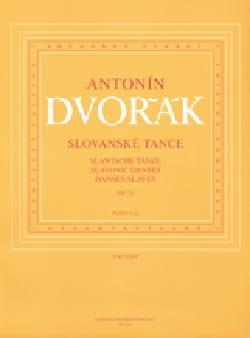 Danses Slaves Opus 72. 4 Mains DVORAK Partition Piano - laflutedepan