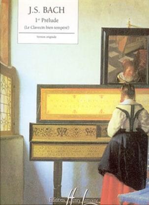 1er Prélude Bwv 846 BACH Partition Piano - laflutedepan