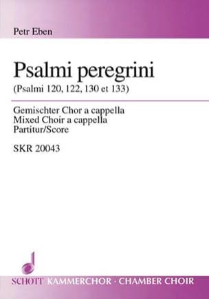 Psalmi Peregrini Petr Eben Partition Chœur - laflutedepan