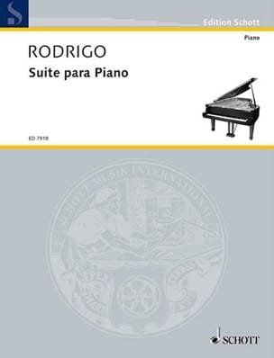 Suite (1923) RODRIGO Partition Piano - laflutedepan