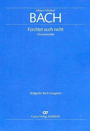 Fürchtet euch nicht - Johann Michael Bach - laflutedepan.com