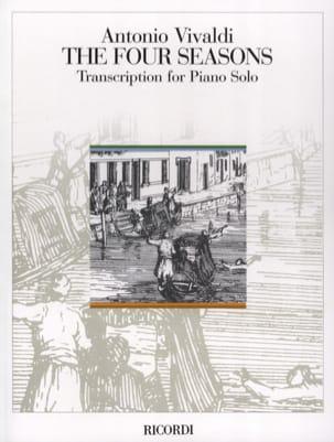 Le 4 Stagioni. Piano VIVALDI Partition Piano - laflutedepan