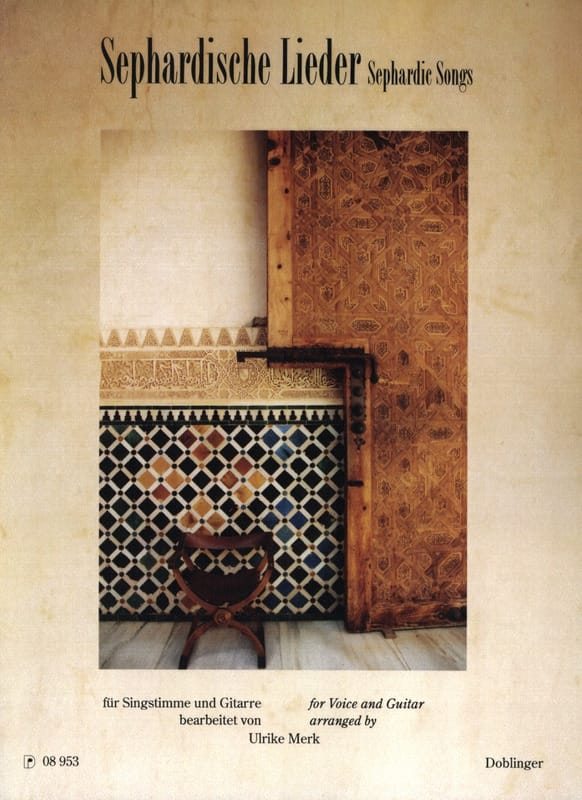 Sephardische lieder - Partition - laflutedepan.com