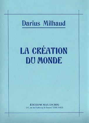 La Création Du Monde MILHAUD Partition Piano - laflutedepan