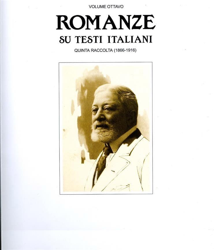 Romanze Su Testi Italiani. Quinta Raccolta - laflutedepan.com