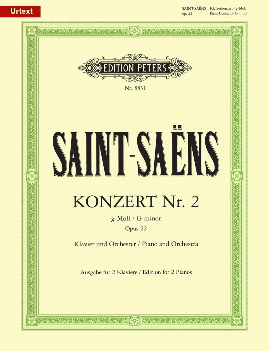 Concerto pour piano n° 2 en Sol mineur Opus 22 - laflutedepan.com