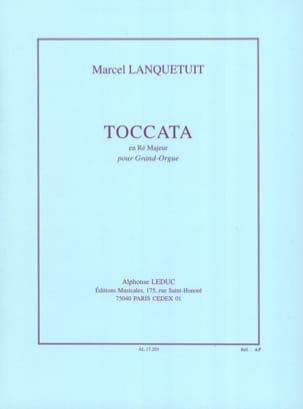 Toccata en Ré Majeur Marcel Lanquetuit Partition Orgue - laflutedepan