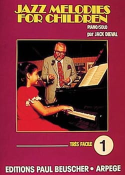 Jazz Melodies For Children - Volume 1 Jack Dieval laflutedepan