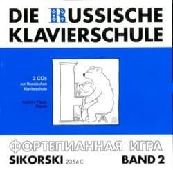 Die Russische Klavierschule Volume 2 CD laflutedepan