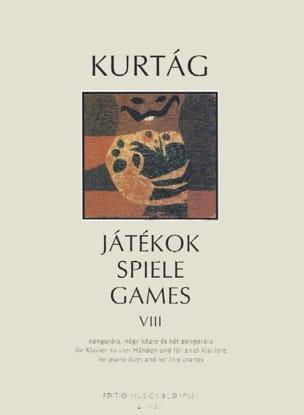 György Kurtag - Jatekok Volume 8. 4 Hands - Partition - di-arezzo.com