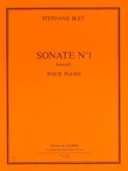Sonate 1 Opus 6 Stéphane Blet Partition Piano - laflutedepan