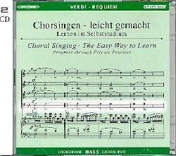 Requiem. CD Basse CHOEUR VERDI Partition Chœur - laflutedepan