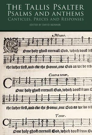 The Tallis Psalter & Anthems Thomas Tallis Partition laflutedepan