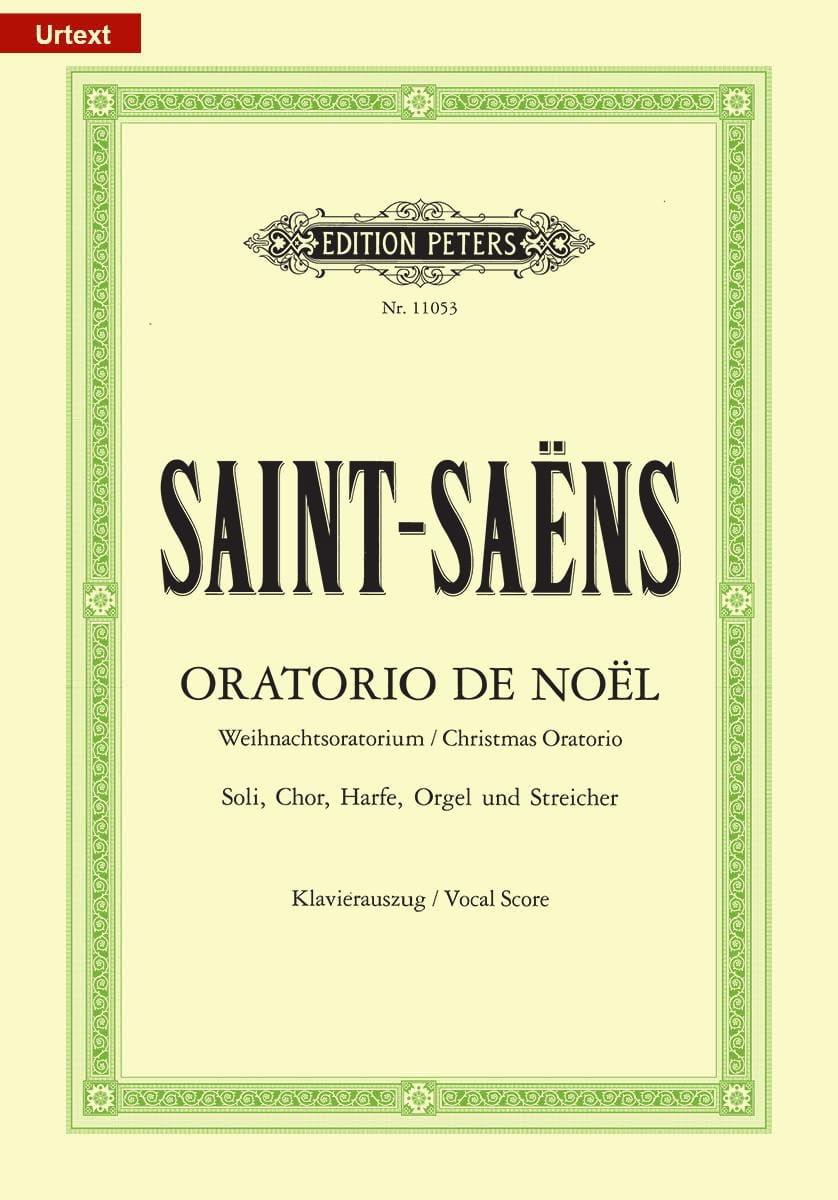 Oratorio de Noël - SAINT-SAËNS - Partition - Chœur - laflutedepan.com