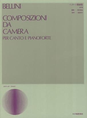 Composizioni Da Camera BELLINI Partition Mélodies - laflutedepan
