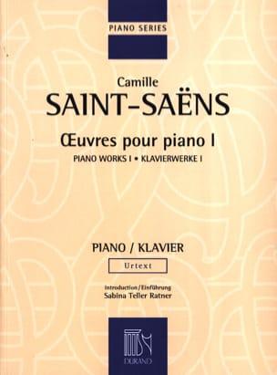 Oeuvres Pour Piano Volume 1 SAINT-SAËNS Partition Piano - laflutedepan