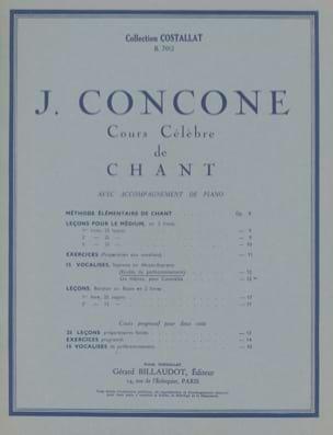 15 Vocalises Opus 12 Soprano Ou Mezzo J. Concone laflutedepan