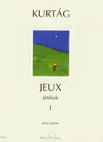 Jatekok Volume 1 - KURTAG - Partition - Piano - laflutedepan.com
