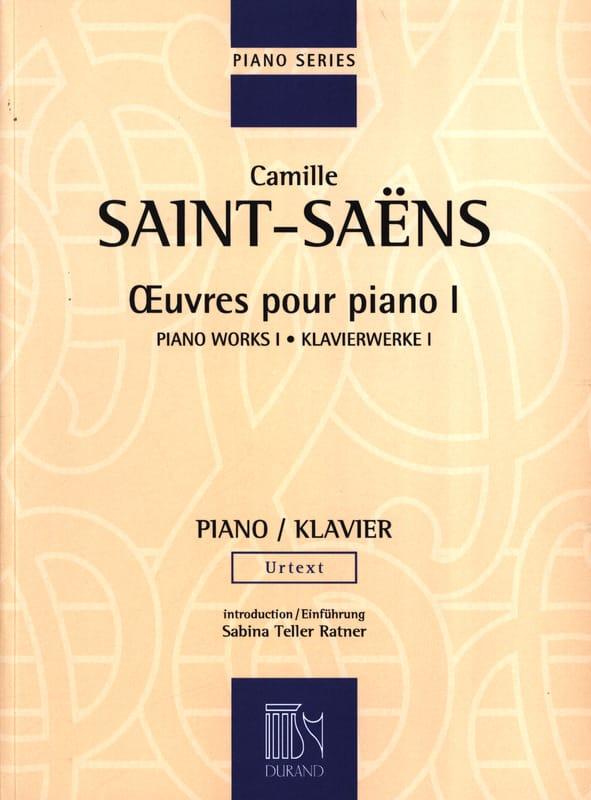 Oeuvres Pour Piano Volume 1 - SAINT-SAËNS - laflutedepan.com