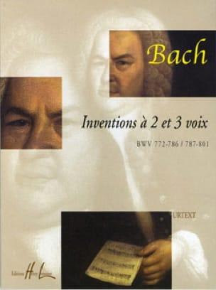 Inventions 2 et 3 Voix - BACH - Partition - Piano - laflutedepan.com