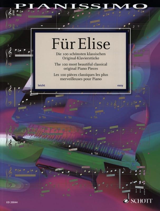 Für Elise - Partition - Piano - laflutedepan.com