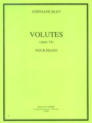 Volutes Opus 14 - Stéphane Blet - Partition - Piano - laflutedepan.com