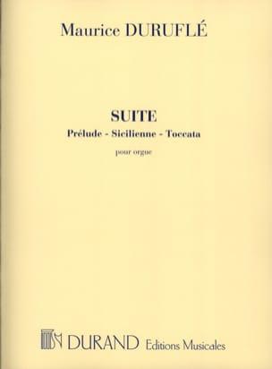 Suite Opus 5 DURUFLÉ Partition Orgue - laflutedepan