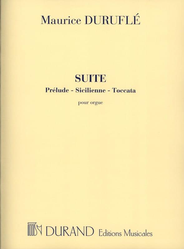 Suite Opus 5 - DURUFLÉ - Partition - Orgue - laflutedepan.com