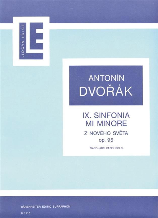 Symphonie Du Nouveau Monde Opus 95 - DVORAK - laflutedepan.com