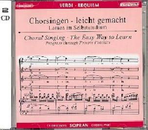 Requiem. CD Soprano CHOEUR - VERDI - Partition - laflutedepan.com