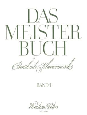 Das Meisterbuch Volume 1 Partition Piano - laflutedepan