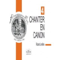 Chanter En Canon Volume 4 Partition Chœur - laflutedepan
