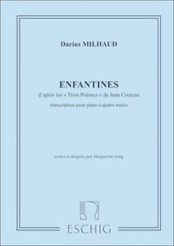 Enfantines. 4 Mains - MILHAUD - Partition - Piano - laflutedepan.com