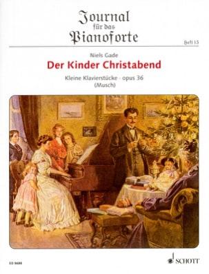 Der Kinder Christabend Op. 36 Niels Gade Partition laflutedepan