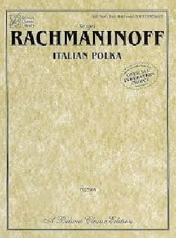 Italian Polka. 4 Mains. RACHMANINOV Partition Piano - laflutedepan