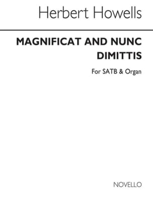 Magnificat And Nunc Dimittis Herbert Howells Partition laflutedepan