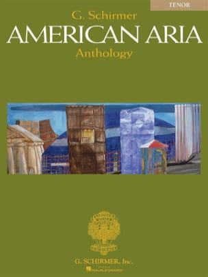 American Aria Anthology. Ténor Partition Recueils - laflutedepan