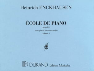Ecole Du Piano 4 Mains Opus 84 - Volume 1 laflutedepan