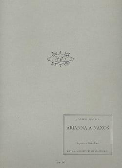 Arianna A Naxos HAYDN Partition Mélodies - laflutedepan
