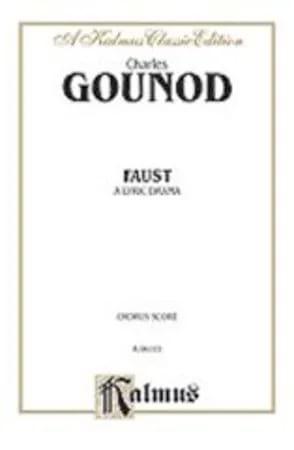 Faust. Choeurs GOUNOD Partition Chœur - laflutedepan