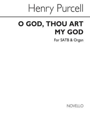O God, Thou Art My God PURCELL Partition laflutedepan
