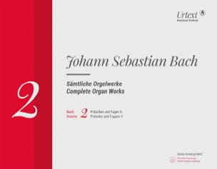 Sämtliche Orgelwerke Volume 2 Rom BACH Partition Orgue - laflutedepan