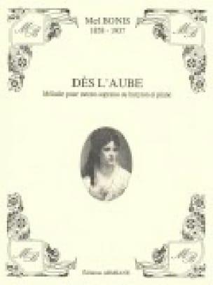 Dès L'aube - Mel Bonis - Partition - Mélodies - laflutedepan.com