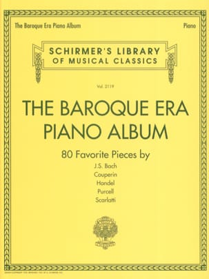 The Baroque Era piano album Partition Piano - laflutedepan