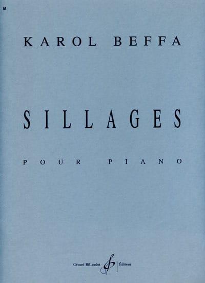Sillages - Karol Beffa - Partition - Piano - laflutedepan.com